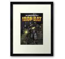 The IronBat Illustration Framed Print