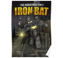 The IronBat Illustration Poster