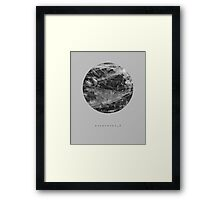 exoplanet_2 (ink) Framed Print