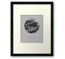 exoplanet_2 (ink) Framed Print
