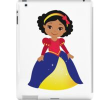 Dark-skinned Snow White iPad Case/Skin