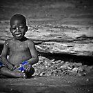Little African Bouddha by Saka