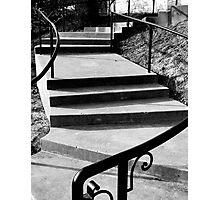Spiral Steps Photographic Print