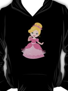 Funny Princess in a pink dress T-Shirt