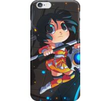 Portal chibi Chell poster iPhone Case/Skin