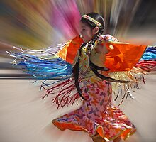Little Fringe Dancer by Linda Gregory