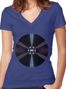 Magic Star Women's Fitted V-Neck T-Shirt