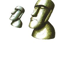 Easter Island Heads - Concept by mstachiw