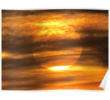 February 25 2015 Sun & Clouds Poster
