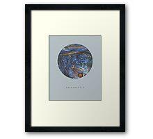 exoplanet_1 (satellite) Framed Print
