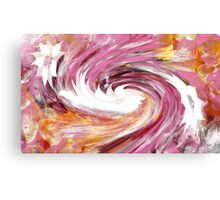 Turbulence abstract 130- Art + Design products Canvas Print