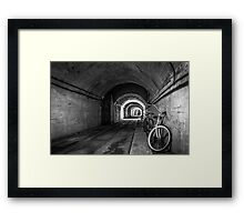 WWII Ho5 Tunnel Framed Print