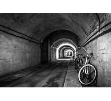 WWII Ho5 Tunnel Photographic Print
