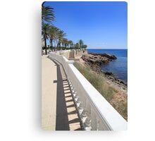 Promenade. Canvas Print