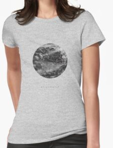 exoplanet_2 (ink) Womens Fitted T-Shirt
