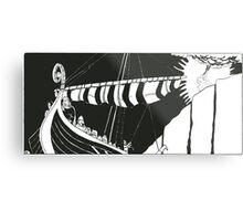 "Vikings ""Escape"" Metal Print"