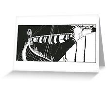 "Vikings ""Escape"" Greeting Card"