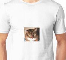 Moggy Fluff Cat Unisex T-Shirt