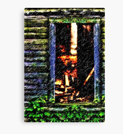 The Mystic Window Fine Art Print Canvas Print