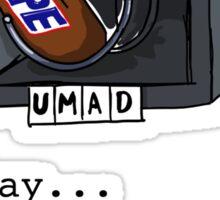 Vending Machine Failure Sticker