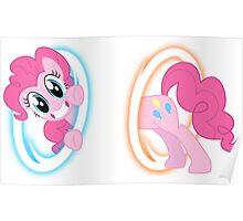 Pinkie Pie Portal chibi Poster