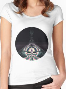 Magic Space Women's Fitted Scoop T-Shirt