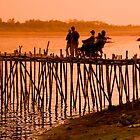 Bamboo Bridge by Kerry Dunstone