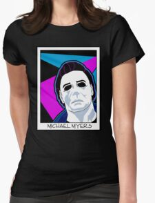 Michael Myers in the 80's Womens Fitted T-Shirt