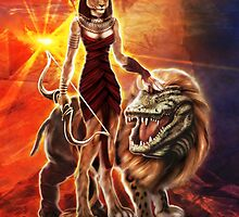 Sekhmet by unnaturalforces