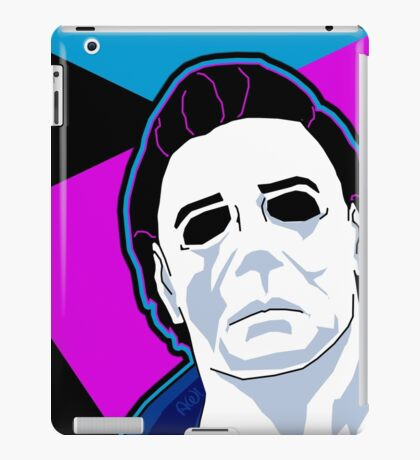 Michael Myers in the 80's iPad Case/Skin