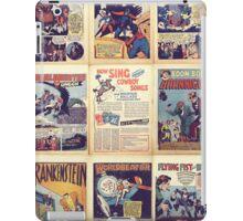 PD comics wall graphic iPad Case/Skin