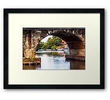 Newark Bridge Framed Print