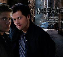Dean Winchester&Castiel Destiel by tigerdimension