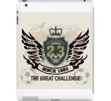 Grunge Badge Design iPad Case/Skin