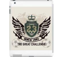 Grunge Badge Design iPad Case/Skin