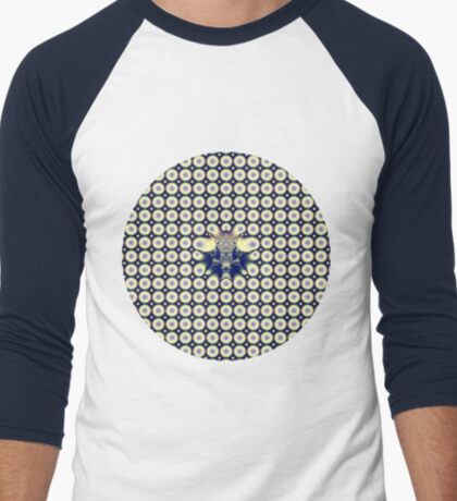 Circles Men's Baseball ¾ T-Shirt