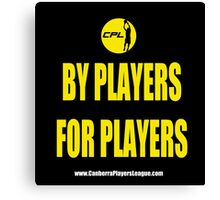 CPL - By Players For Players 2 Canvas Print