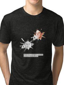 Hotch does not follow protocol. Protocol follows Hotch.  Tri-blend T-Shirt