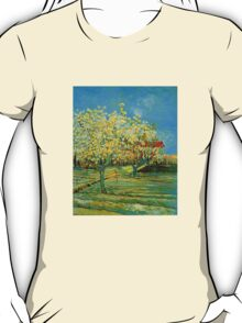 'Orchard' by Vincent Van Gogh (Reproduction) T-Shirt