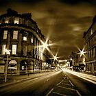Argyll St Monochrome by Daniel Davison
