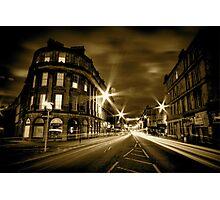 Argyll St Monochrome Photographic Print