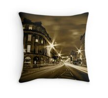 Argyll St Monochrome Throw Pillow