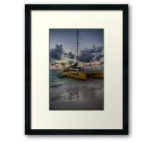 This Evening's Party Cruise Framed Print