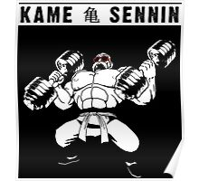 Master Roshi the Turtle Hermit (Kame Sennin) Poster