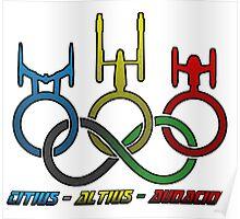 Citius - Altius - Audacior Poster