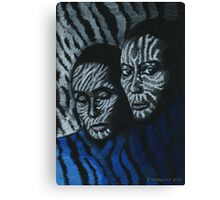 Two African beauties Canvas Print
