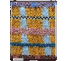 Rough Knitting Pattern iPad Case/Skin