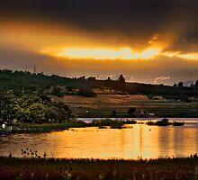 aget lake  rogue valley by daledaniel