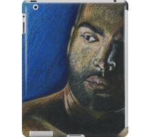 portrait of a man iPad Case/Skin