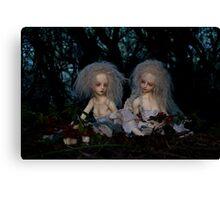 Wood Nymphs Canvas Print